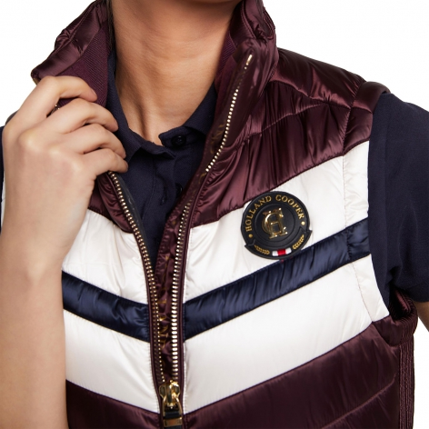 Sports Team Gilet - Mulberry Image 4