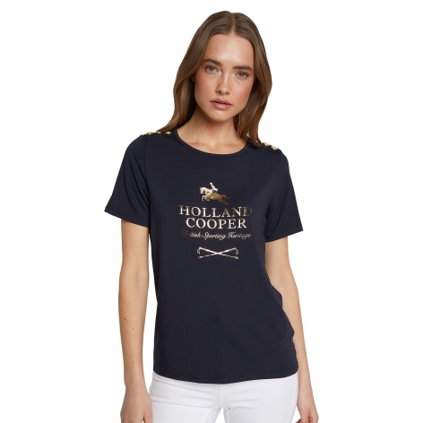 Holland Cooper Hurdle T-Shirt
