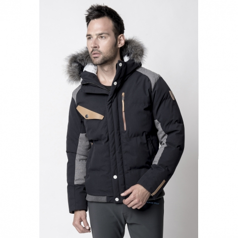 Men's Fahrenheit Parka Jacket - Black