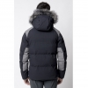 Men's Fahrenheit Parka Jacket - Black Image 2