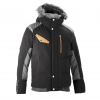 Men's Fahrenheit Parka Jacket - Black Image 3