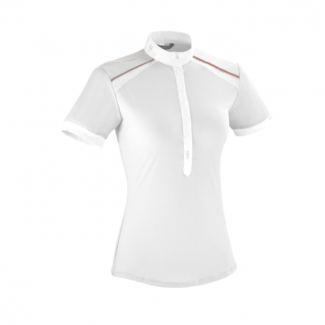 Horse Pilot White Competition Shirt
