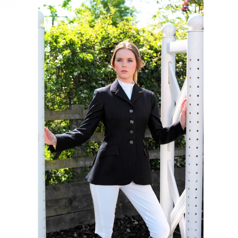 Navy Wool Show Jacket