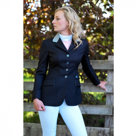 Navy and Silver Show Jacket