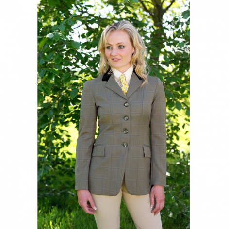Green Tweed Showing Jacket