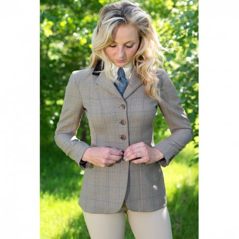 Equiport Tweed Showing Jacket