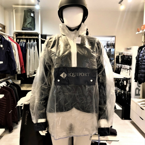 Clear Waterproof Riding Jacket