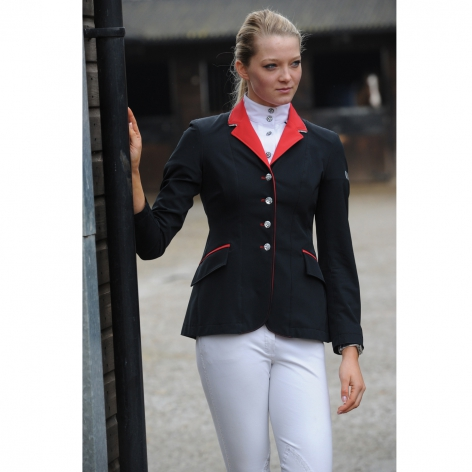 Black and Red Show Jacket