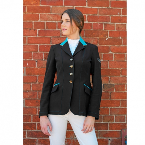 Black Show Jumping Jacket