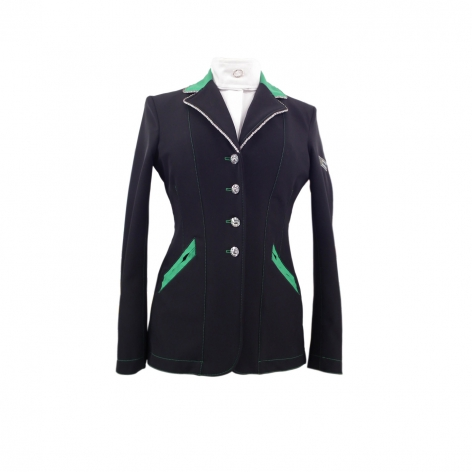 Black and Green Show Jacket