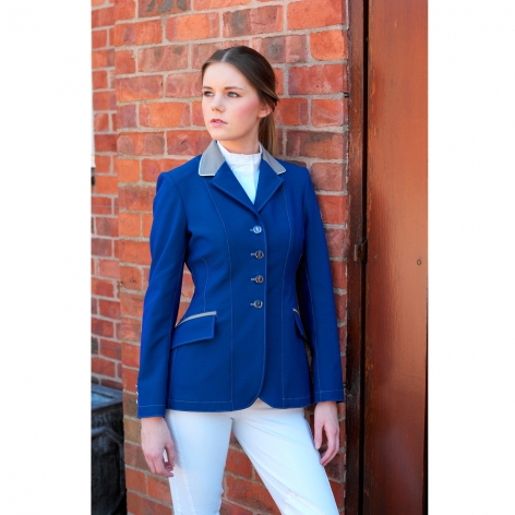 Technical Show Jacket - Create Your Own - Royal, Brown or Ebony Pinstripe