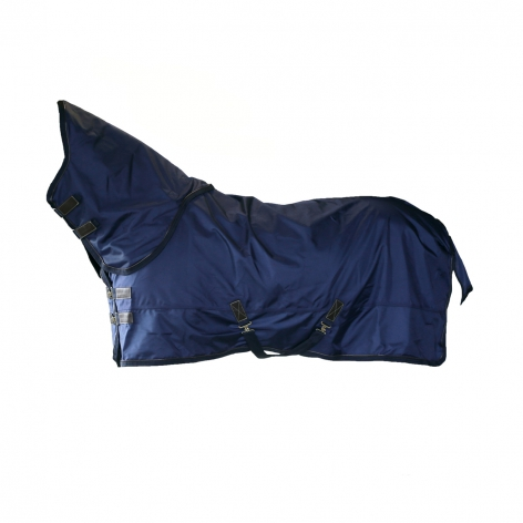 Pro All Weather Turnout Rug - Navy 300g Image 3