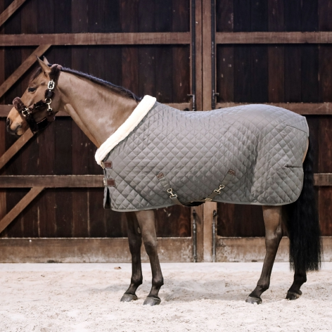 Grey Kentucky Show Rug
