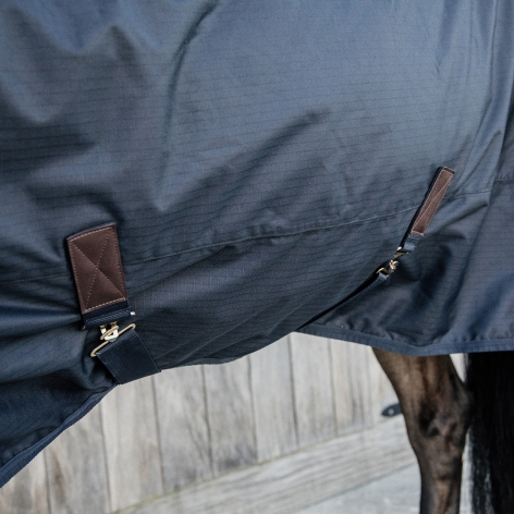 Turnout Rug All Weather Waterproof Classic 0g - Navy Image 3