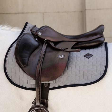 Grey Kentucky Saddle Cloth