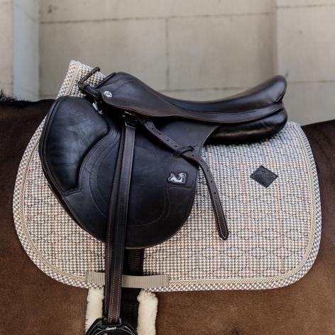 Kentucky Pied-De-Poule Saddle Cloth