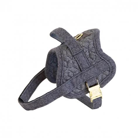 Grey Kentucky Dog Harness