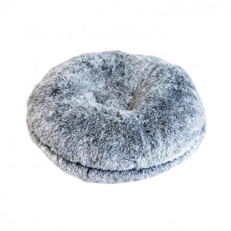 Comfort Donut Dog Bed - Grey Image 4