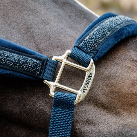 Glitter and Stone Headcollar - Navy Image 3