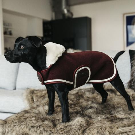 Kentucky Fleece Dog Coat
