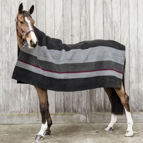 Kentucky Striped Fleece Blanket