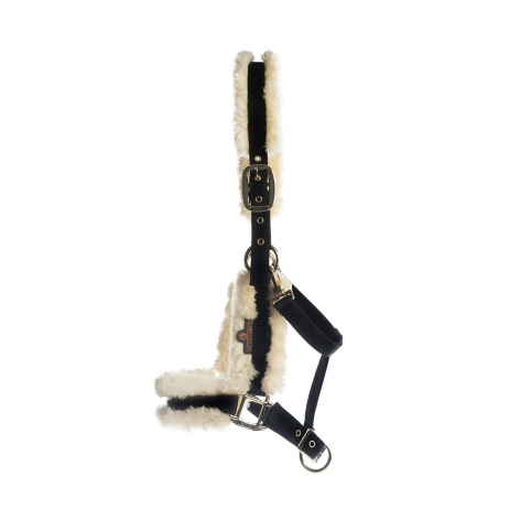 Kentucky Natural Sheepskin Headcollar