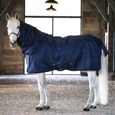 All Weather Pro Lightweight Turnout Rug - Navy 0g Image 3