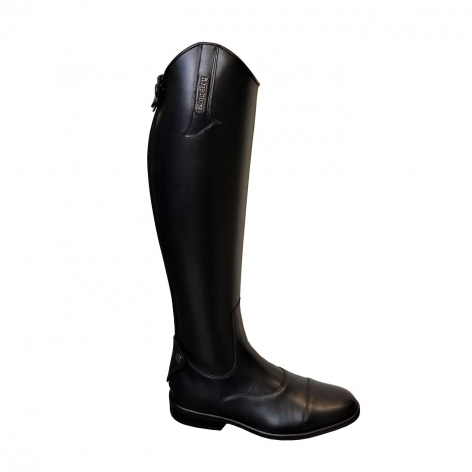 Kingsley Black Riding Boots