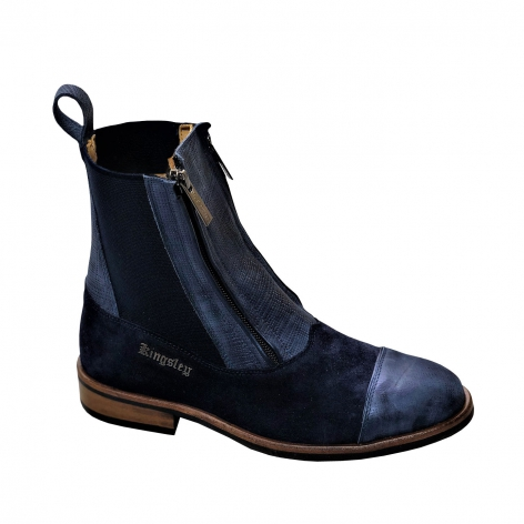 Kingsley Blue Short Boots