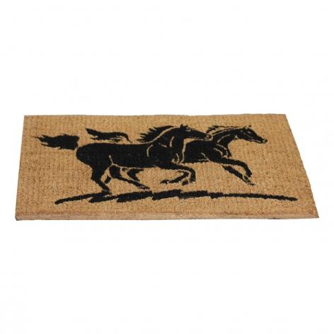 Horse Design Coir Doormat