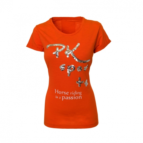 Orange Equestrian Riding Top