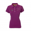 Purple Equestrian Polo Shirt