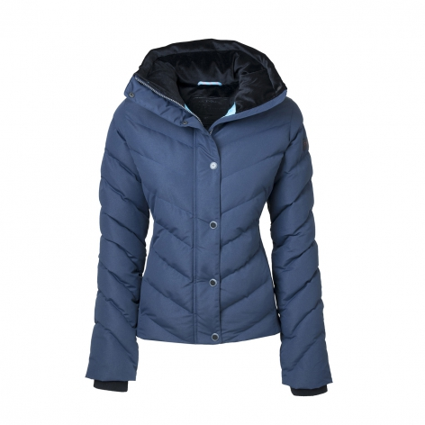 Navy Shimmer Riding Jacket