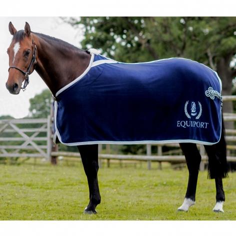 Embroidered Fleece Horse Show Rug