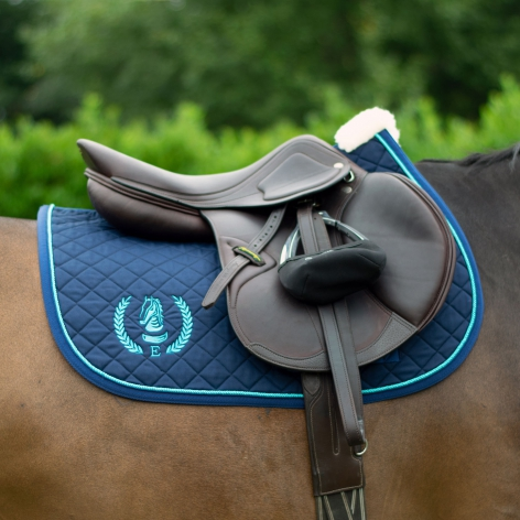 Embroidered Logo Saddle Cloth - Jumping