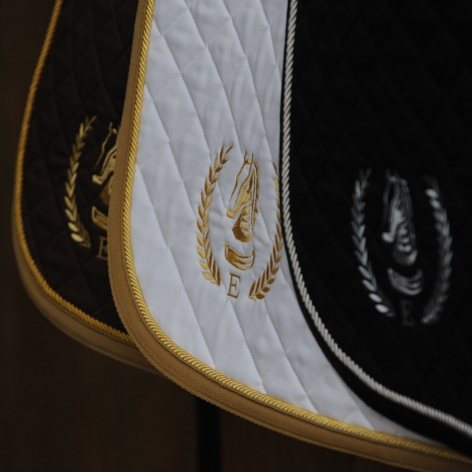 Embroidered Logo Saddle Cloth - Dressage