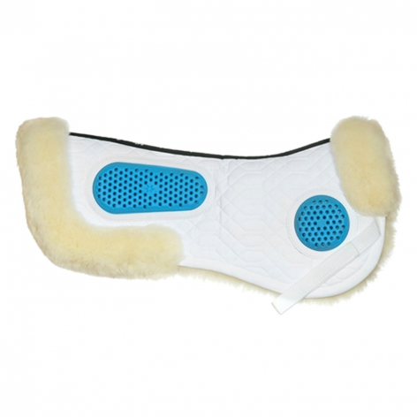 Gel-Eze Sheepskin Half Pad