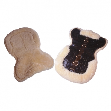 Gel Full Sheepskin Saddle Pad