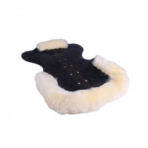 Gel Sheepskin Trimmed Saddle Pad