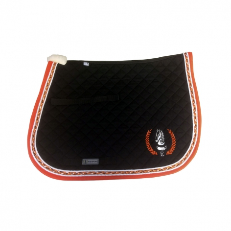 Orange Saddle Cloth