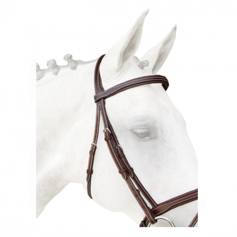 Silver Crown Bridle Headpiece