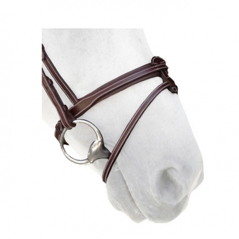 Silver Crown Noseband