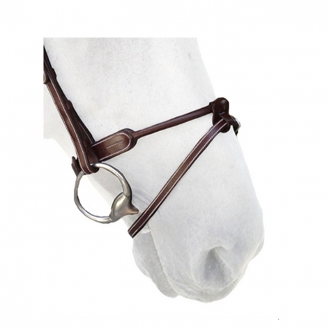 Rolled Flash Noseband