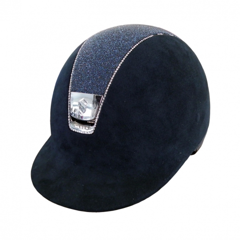 Samshield Navy Crystal Riding Hat