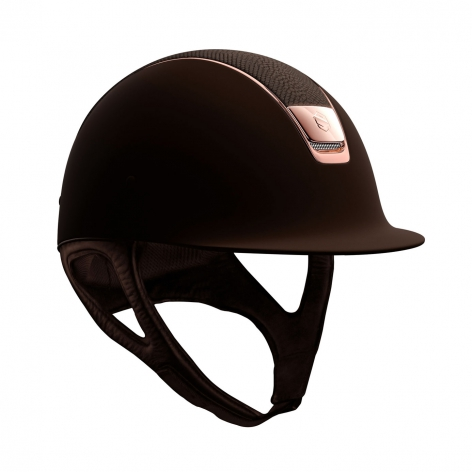 Brown Lizard Riding Hat