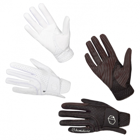New V-Skin Riding Gloves Image 3
