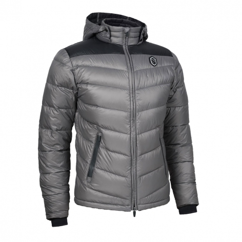 Men's Megeve Down Jacket - Grey