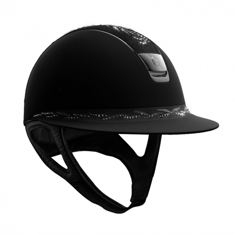 Samshield Black Crystal Riding Hat