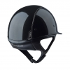Glossy Black Riding Helmet