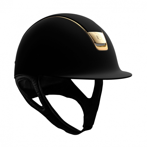 Black and Gold Riding Hat